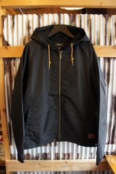 BRIXTON CLAXTON WINDBREAKER JACKET (BLACK)