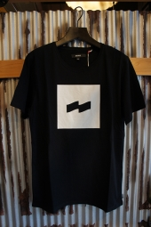 BANKS FLAG TEE SHIRT (DIRTY BLACK)