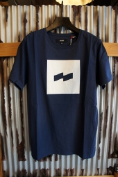 BANKS FLAG TEE SHIRT (INSIGNIA BLUE)