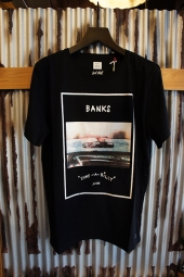 BANKS LATER TEE SHIRT (DIRTY BLACK)