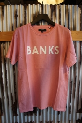 BANKS CLASSIC TEE SHIRT (ROSE)