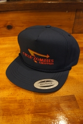 CYCLE ZOMBIES ANIMAL STYLE Premium Golf Snapback Cap (NAVY)