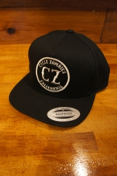 CYCLE ZOMBIES CALIFORNIA Premium Twill Snapback Hat (BLACK)