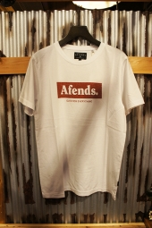 AFENDS Stone Standard Fit Tee (White)