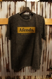 AFENDS Stone Standard Fit Tee (Black Acid)