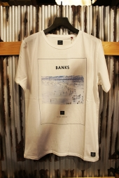 BANKS CROWD TEE SHIRT (OFF WHITE)