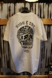 SKETCHY TANK HIGH & DRY TEE (WHITE)