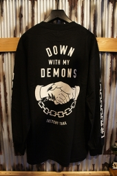 SKETCHY TANK DEMONS L/S TEE (BLACK)