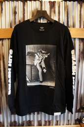 DIAMOND SUPPLY CO JIMI HENDRIX EXPERIENCE L/S TEE (BLACK)