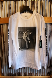 DIAMOND SUPPLY CO JIMI HENDRIX EXPERIENCE L/S TEE (WHITE)
