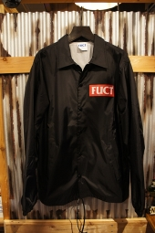 FUCT SSDD BOX LOGO WINDBREAKER (BLACK)