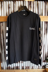 LEVI'S SKATEBOARDING COLLECTION GRAPHIC L/S TEE (JET BLACK)
