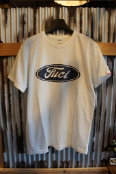FUCT SSDD F OVAL LOGO TEE (WHITE)