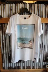 BANKS AWAKE TEE SHIRT (OFF WHITE)