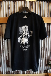 VANS x SKETCHY TANK LUAU LADY T-SHIRT (BLACK)