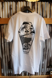 VANS x SKETCHY TANK SKETCHED OUT T-SHIRT (WHITE)