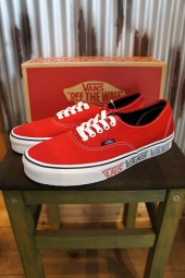 VANS AUTHENTIC (VANS CHECKER TAPE) RED