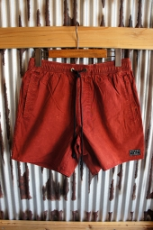 AFENDS Baywatch Shorts (Red Acid)