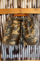 AFENDS Pint Elastic Waist Walkshort (Dark Camo)