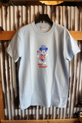 40s & Shorties Hey There Tee (Powder Blue)